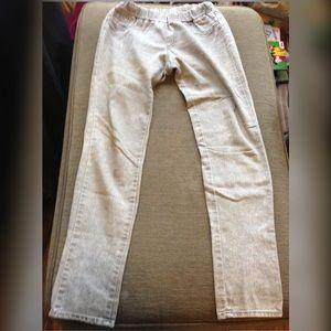 "🔴 Korea Grey Stretch Skinny Pants Jeans Waist 28"""